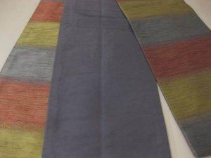 染匠「小森久」博多織半幅帯